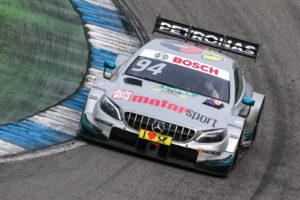 DTM Test Hockenheimring 2018 / Pascal Wehrlein Mercedes | Foto: Torsten Karpf - Hockenheimring