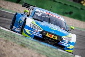 DTM Test Hockenheimring 2018 / Robin Frijns Audi | Foto: Torsten Karpf - Hockenheimring