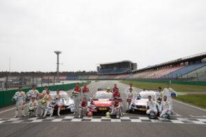 DMT Fahrer und Teams 2018 /Audi / BMW / Mercedes Foto: Torsten Karpf - Hockenheimring GmbH