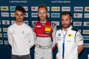 Pascal Wehrlein, Rene Rast & Timo Glock | Foto: Torsten Karpf / Hockenheimring GmbH